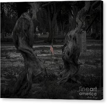 Canvas Print featuring the photograph Standing Proud by Amber Kresge