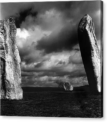 Standing Stones Avebury Canvas Print by Mark Preston