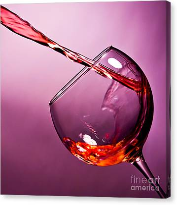 Pouring Wine Canvas Print - Standing Water by Matthew Trudeau
