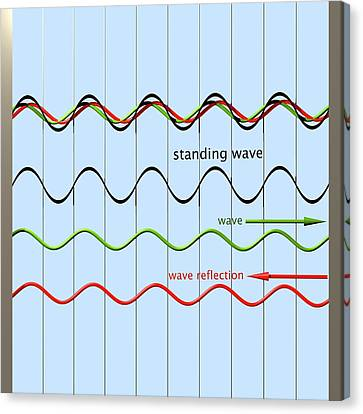 Standing Wave Formation Canvas Print