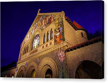 Stanford University Memorial Church Canvas Print by Scott McGuire