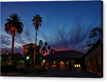 Stanford University Quad Sunset Canvas Print by Scott McGuire