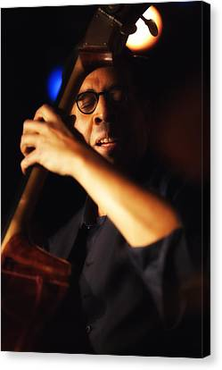 Stanley Clarke Canvas Print by Dailey Pike