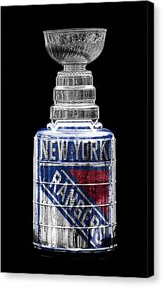 Hockey Canvas Print - Stanley Cup 4 by Andrew Fare
