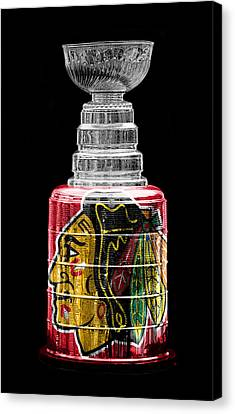 Hockey Canvas Print - Stanley Cup 6 by Andrew Fare