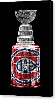 Stanley Cup 7 Canvas Print by Andrew Fare