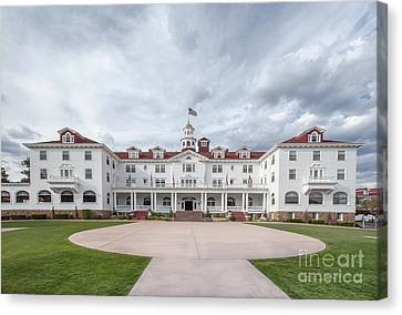 Stanley Hotel Estes Park Canvas Print by Kay Pickens