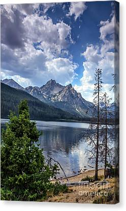 Stanley Lake View Canvas Print
