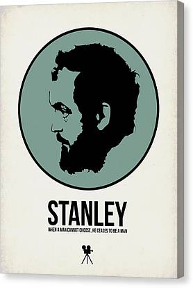 Stanley Poster 1 Canvas Print by Naxart Studio