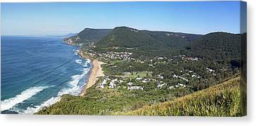 Stanwell Park Panorama Canvas Print