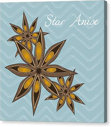 Anise Canvas Print - Star Anise Art by Christy Beckwith