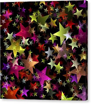 Star Belt Canvas Print