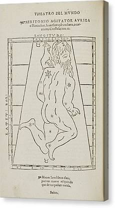 Star Constellation Canvas Print by British Library