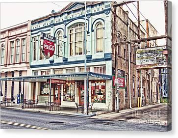 Star Drug Store - Store Front Canvas Print by Scott Pellegrin