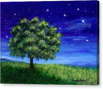 Star Gazing Canvas Print