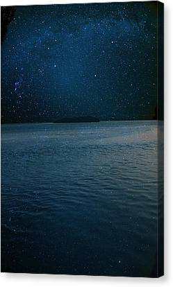 Star Island Canvas Print by AR Annahita