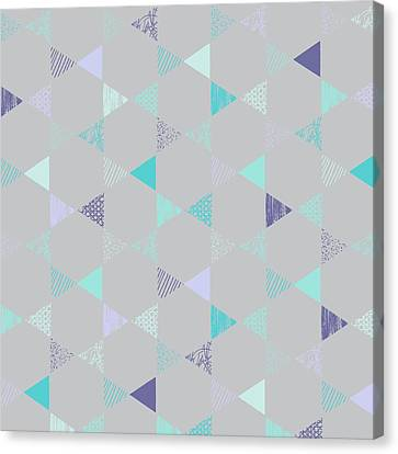 Star Canvas Print by Laurence Lavallee