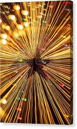 Star Lights Canvas Print by Garry Gay