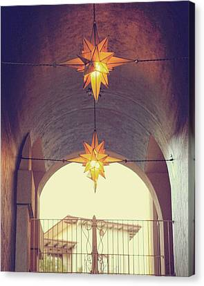 Canvas Print featuring the photograph Star Lights by Heather Green