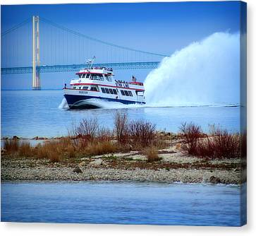 Hovind Canvas Print - Star Line And The Mighty Mac by Scott Hovind