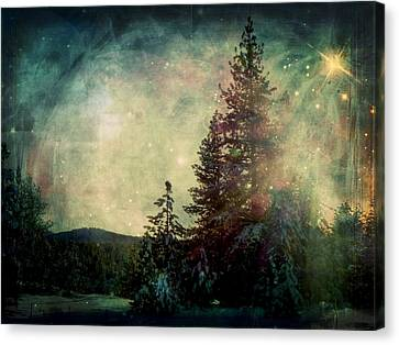 Star Of Solstice Canvas Print