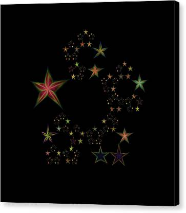 Star Of Stars 11 Canvas Print by Sora Neva
