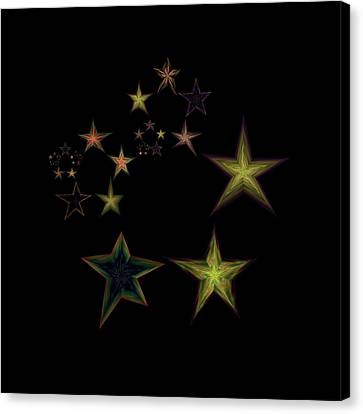 Star Of Stars 16 Canvas Print by Sora Neva