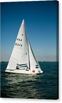 Star Sailboat Canvas Print