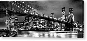 Star Spangled Skyline 2 Canvas Print by Az Jackson
