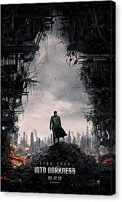 Star Trek Into Darkness  Canvas Print by Movie Poster Prints