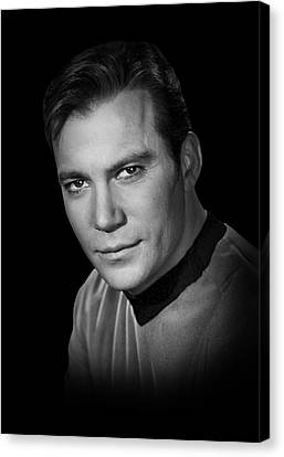 Star Trek Kirk Canvas Print by Daniel Hagerman