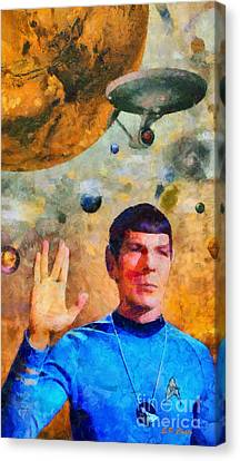 Star Trek-leonard Nimoy Canvas Print