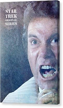 Star Trek Original Series Kirk Khan Canvas Print by Pablo Franchi