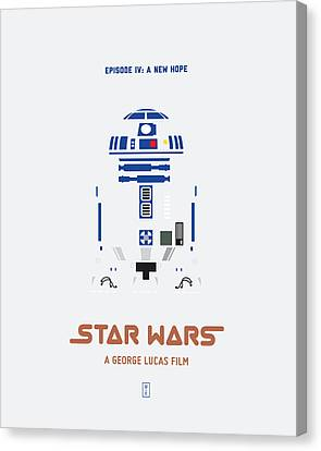 Star Wars Canvas Print by Smile In The  Mind