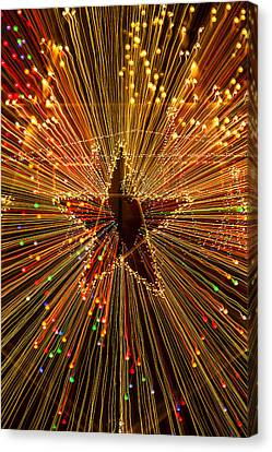 Star Zoom  Canvas Print by Garry Gay