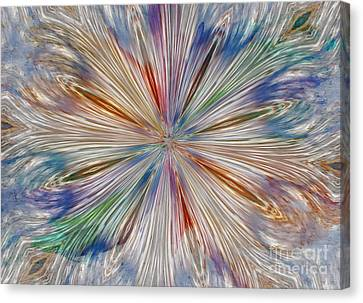 Canvas Print featuring the photograph Starburst by Geraldine DeBoer