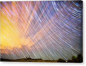 Stardate 10 21 2014 Canvas Print by James BO  Insogna