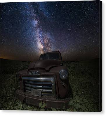 Stardust And Rust Gmc  Canvas Print by Aaron J Groen