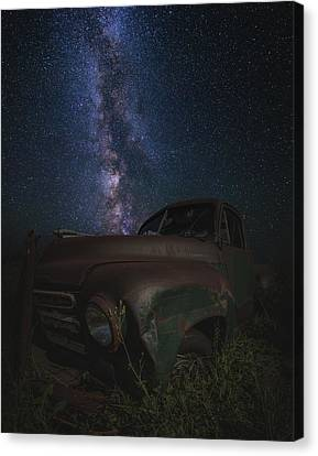 Stardust And Rust  Studebaker Canvas Print by Aaron J Groen
