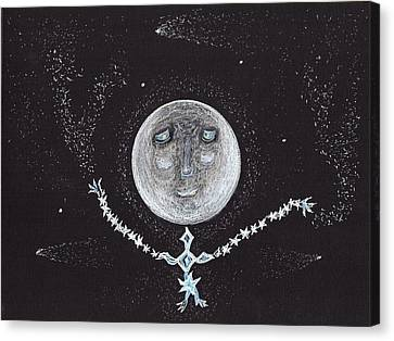 Stardust Moon Canvas Print by Jim Taylor