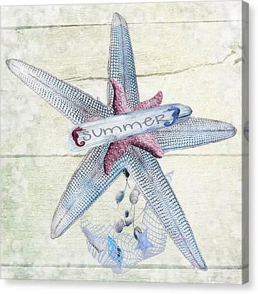 Summer Starfish  Canvas Print
