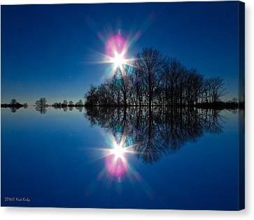 Starflection Canvas Print