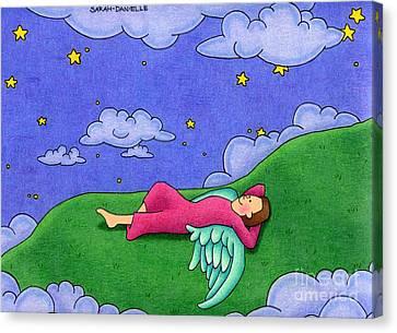 Stargazer Canvas Print by Sarah Batalka