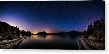Stargazing Canvas Print by Alexis Birkill
