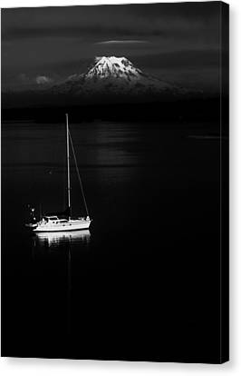 Stark Sail Canvas Print by Benjamin Yeager