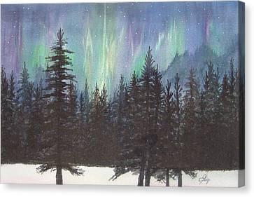 Starlight Dance Canvas Print