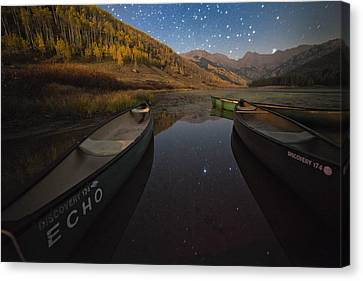 Starlight Discovery At Piney Lake Canvas Print