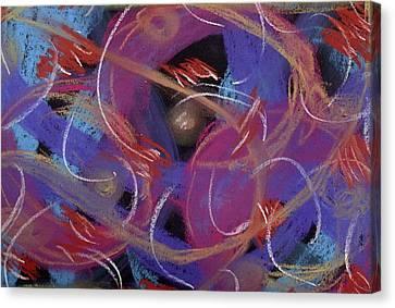 Starlight Forest Canvas Print