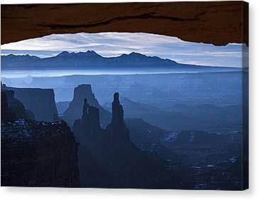 Starlit Mesa  Canvas Print by Dustin  LeFevre