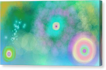 Starnest Canvas Print by Rosana Ortiz